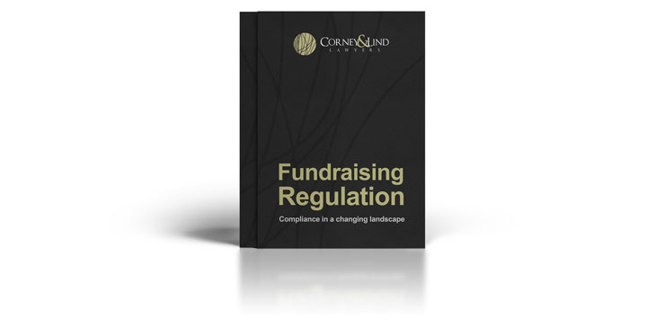 Cover image of the downloadable charity & not-for-profit fundraising regulation paper